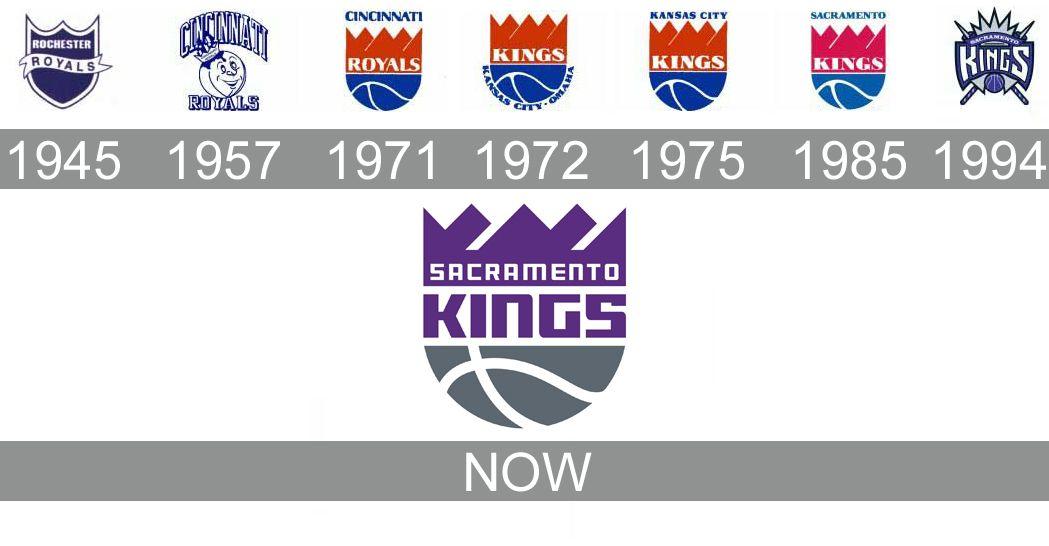 sacramento kings logo history Sacramento kings, Sports