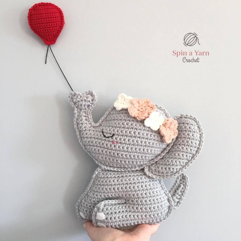Ravelry: Elephant pattern by Sharon Ojala | 1024x1024