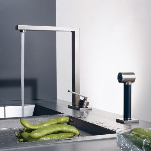 Ultra Modern Kitchen Faucet Lot Collection By Dornbracht Contemporary Kitchen Faucets Modern Kitchen Sinks Kitchen Taps