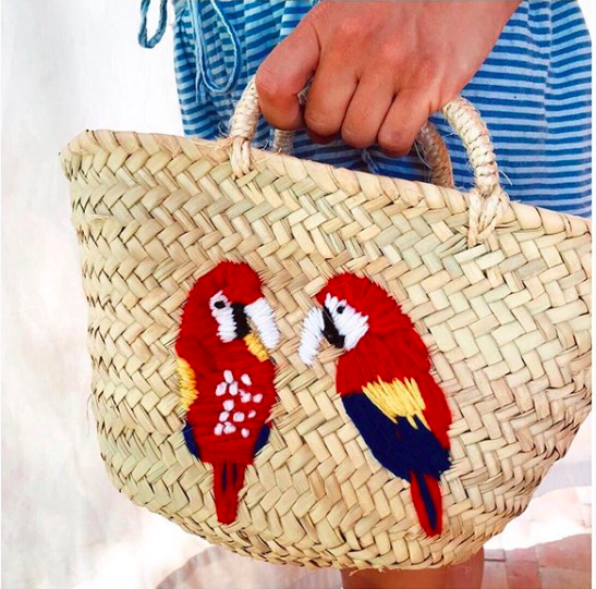 Tropical Collection Handmade, Handcraft, Hand embroidered