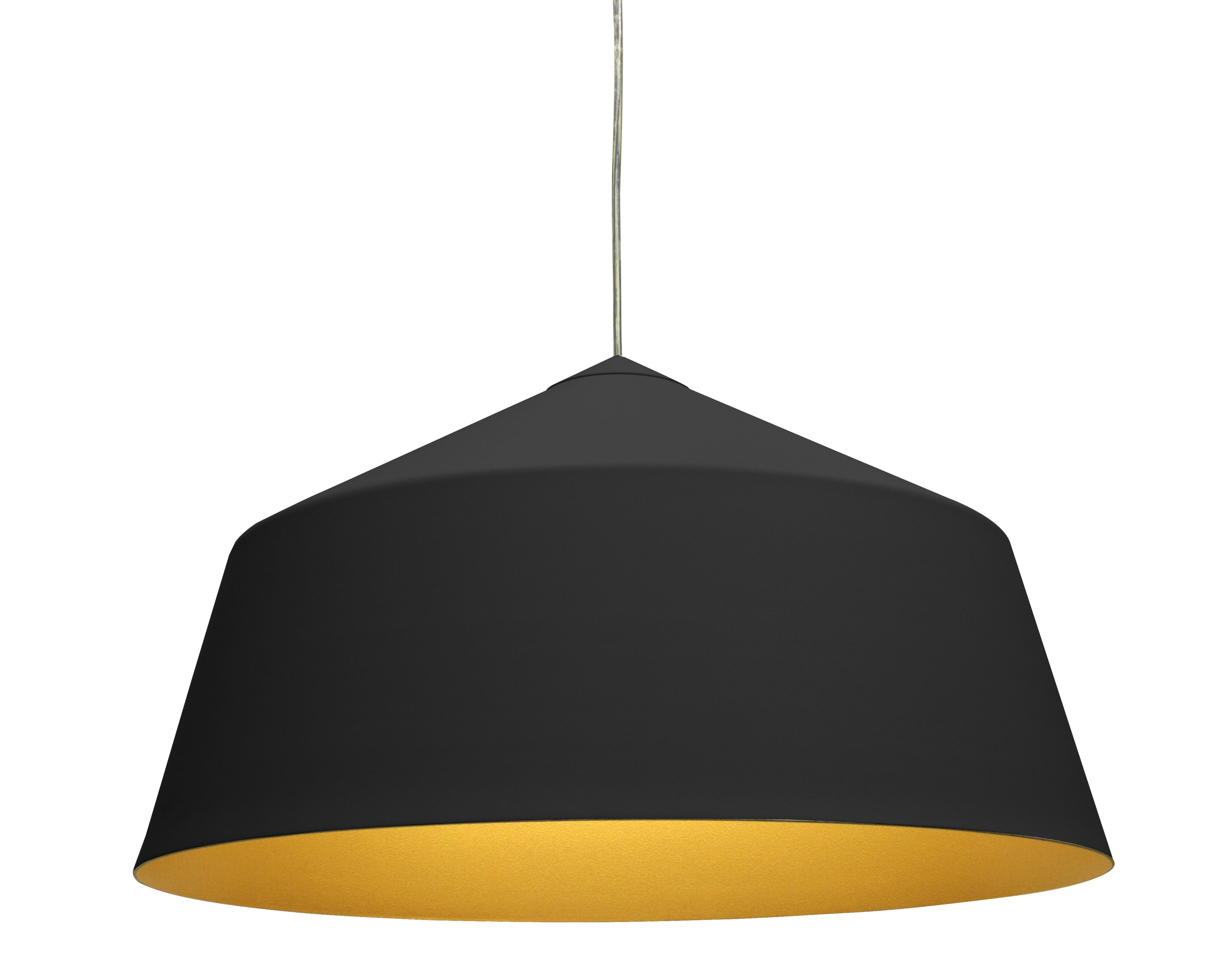 Corinna Warm Circus Pendant Lamp in Black or White in 56cm