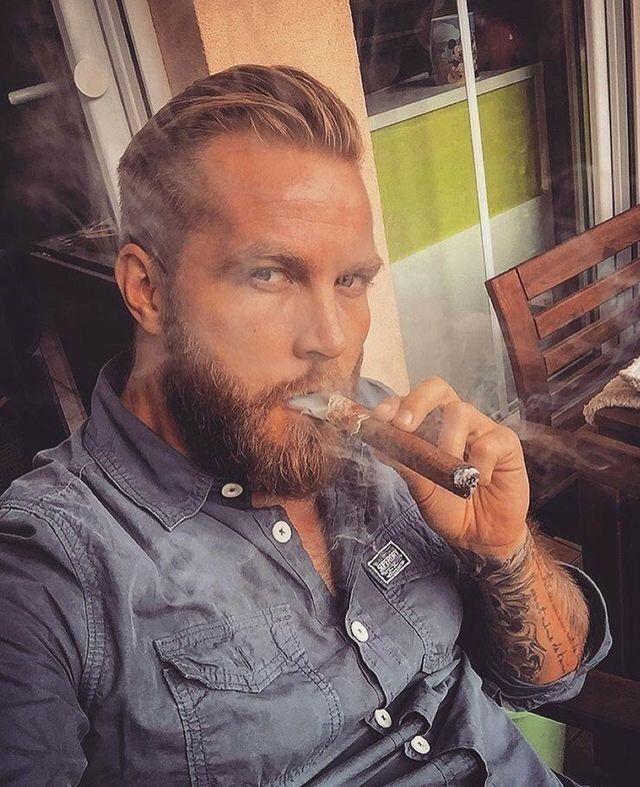 from Hezekiah gay hunk smoking cigars