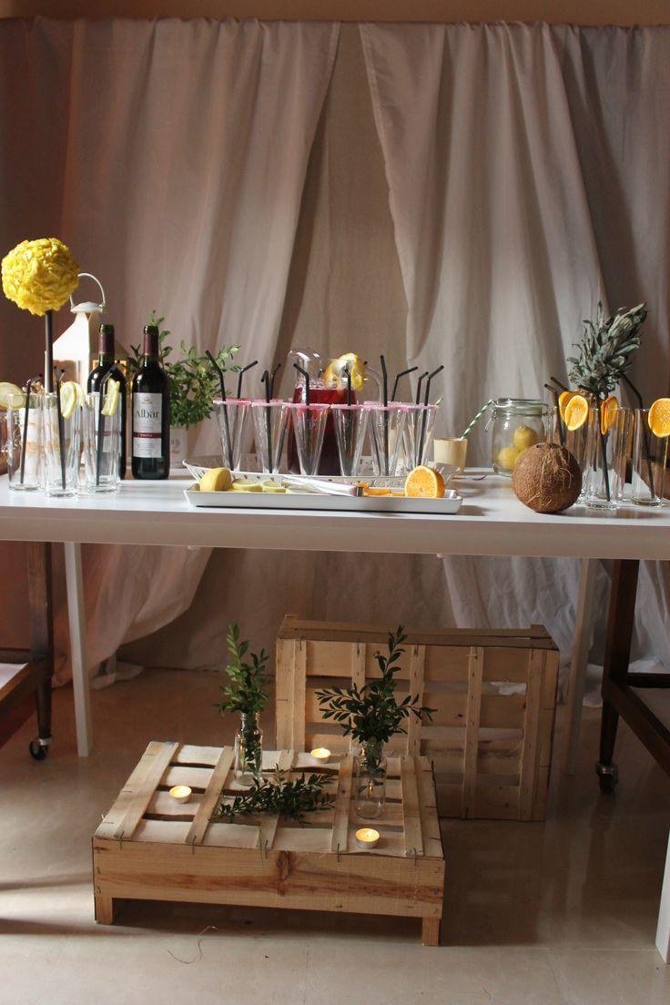 C mo montar un buffet si organizas una fiesta ibicenca en - Montar un servidor en casa ...
