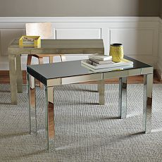 Best Of Mirrored Parsons Table
