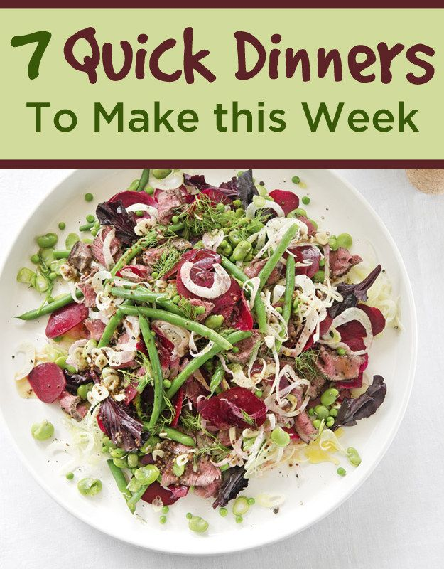 7 quick dinners to make this week pinterest dinners easy and foods 7 quick dinners to make this week forumfinder Image collections