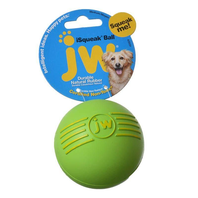 JW Pet Company iSqueak Ball Dog Toy | Jw pet, Pet
