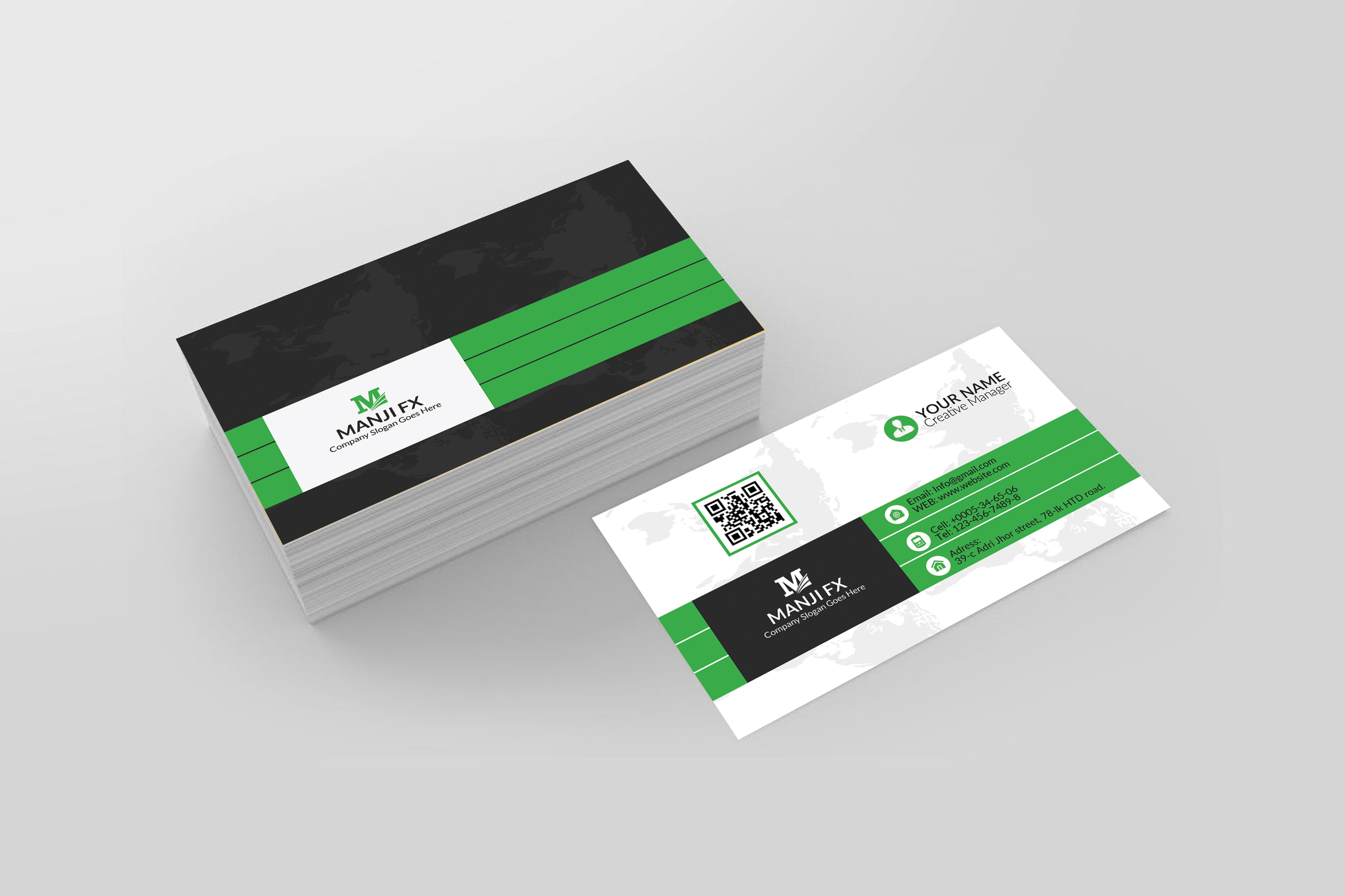 Manjil280 I Will Unique Business Cards Design Within 2 Hours For