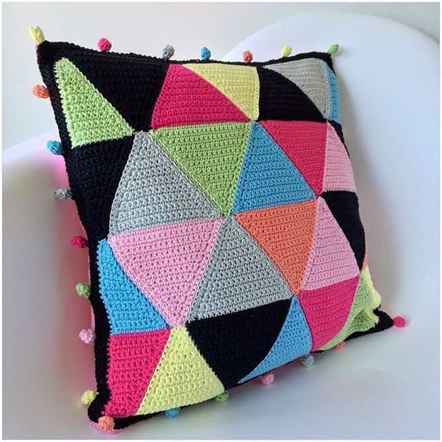cojines caramelo hogar proyectos ganchillo tejidos crochet verano crochet bricolaje ideas de ganchillo