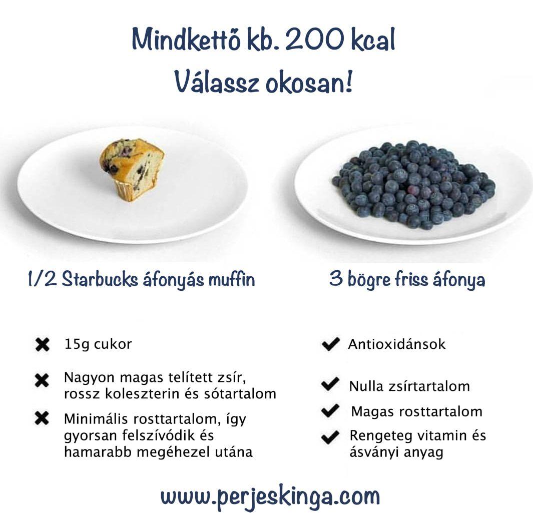 Kalória vs. kalória II Válassz okosan! II www.perjeskinga..