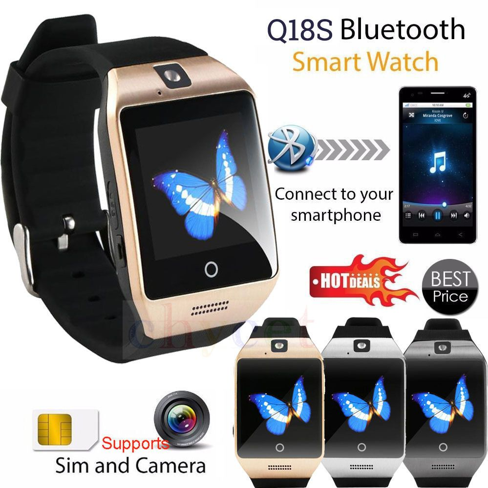 smart phone watch Suppliers Smarcent Bluetooth relogio Smart Watch Smartwatch Support SIM Card GSM Video Camera Smart Phone watch clock watches men
