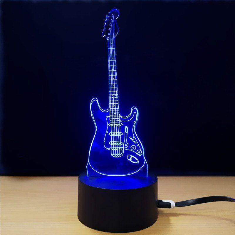 M Sparkling Td282 Creative Music 3d Led Lamp 3d Led Lamp Lamp Led Lamp