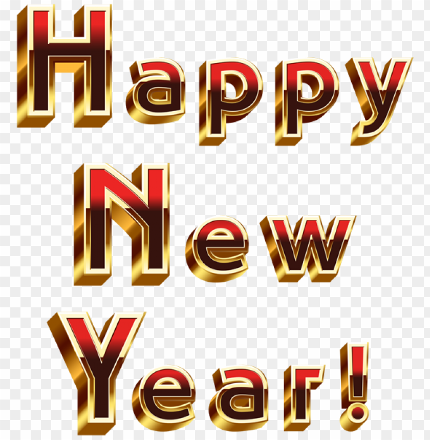 Happy New Year Transparent Png Image Png Image With Transparent Background Png Free Png Images In 2020 Happy New Year Png Happy New Happy New Year Download