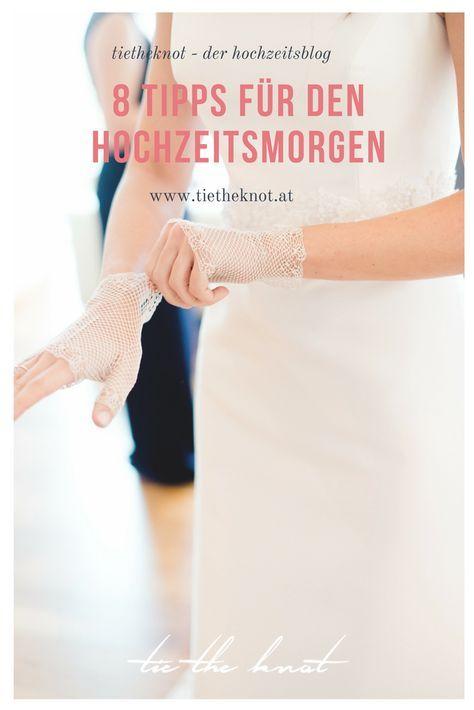 Der Hochzeitsmorgen 8 Tipps für den perfekten Start in den