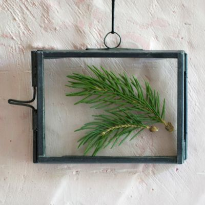 Botanical Frame Ornament, Rectangle