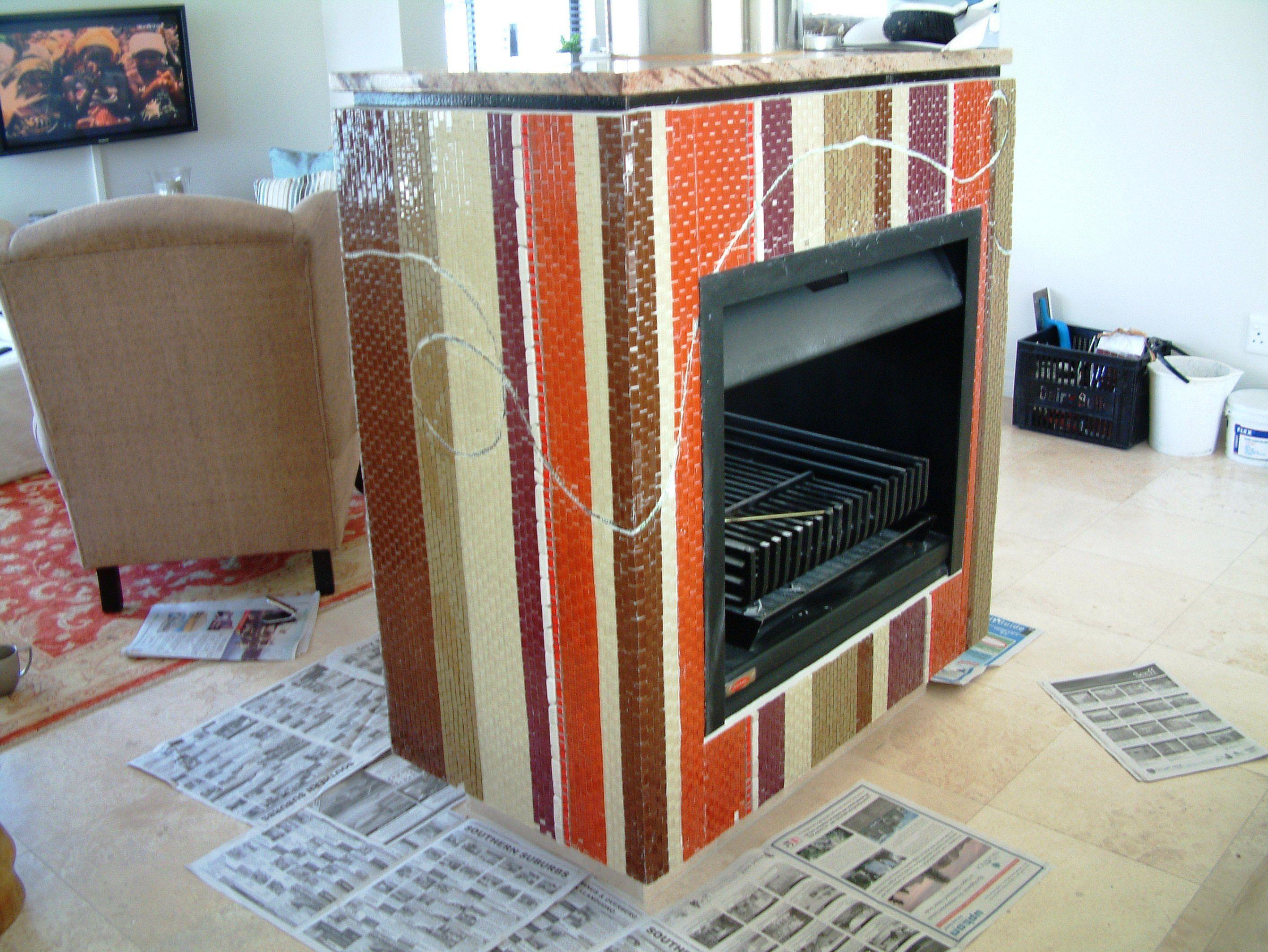 paul smith inspired mosaic fireplace bit by bit mosaic portfolio