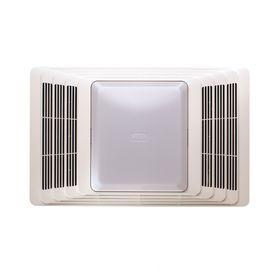 Master Bath Broan 4 Sone 70 Cfm White Bathroom Fan With Heater And