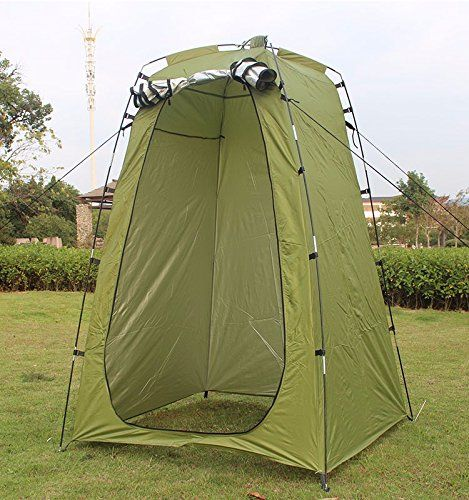 Lightweight Portable C&ing Shower tent awning canvas folding Outdoor Toilet Room Privacy showing Changing clothes tente & Lightweight Portable Camping Shower tent awning canvas folding ...