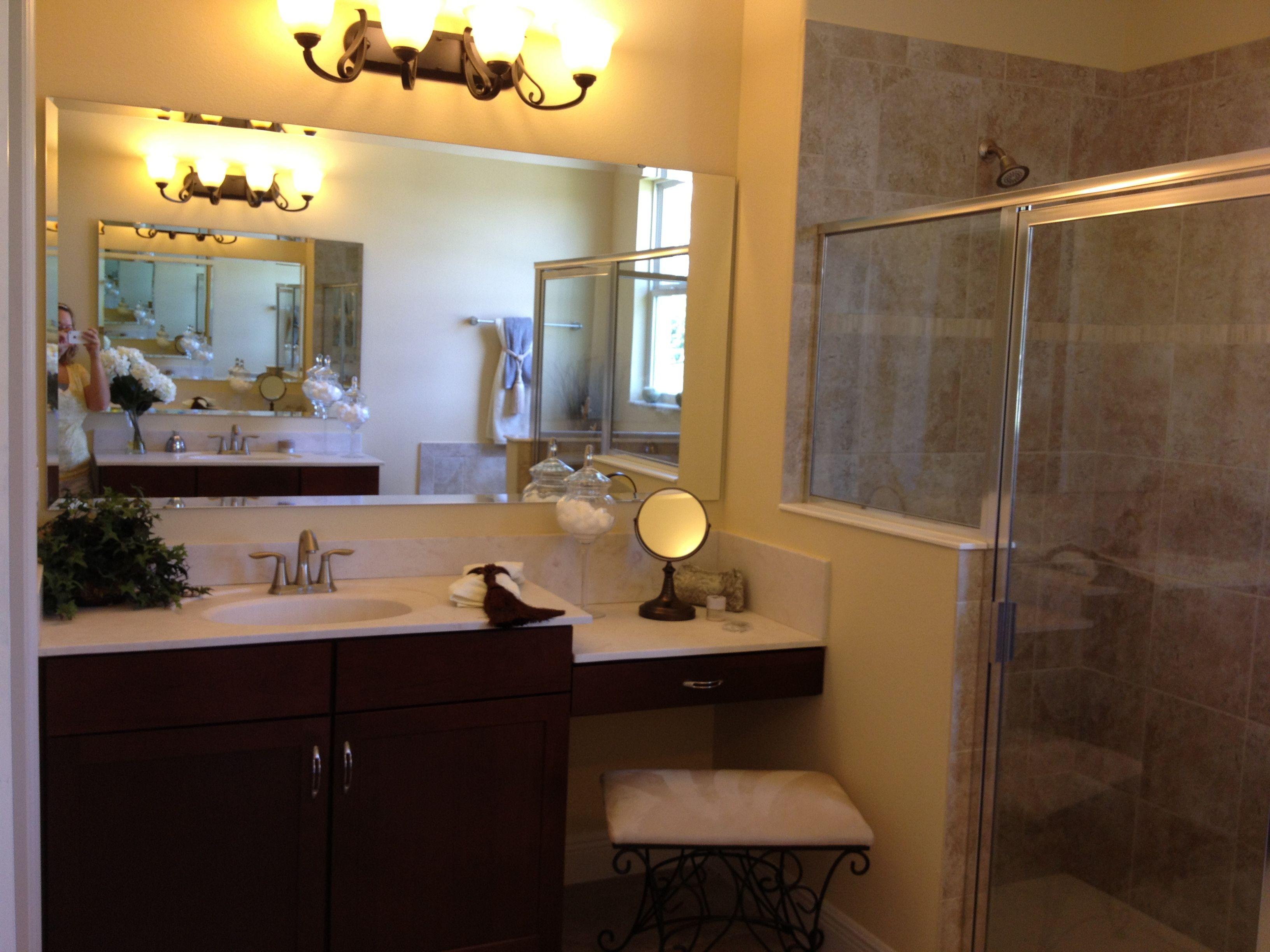 Looks dinky Master bathroom Vanity Pinterest