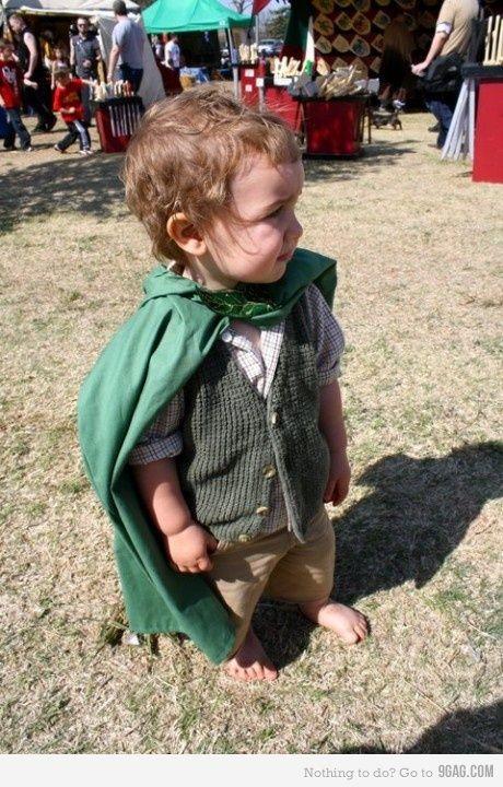 YES! Toddler hobbit!!