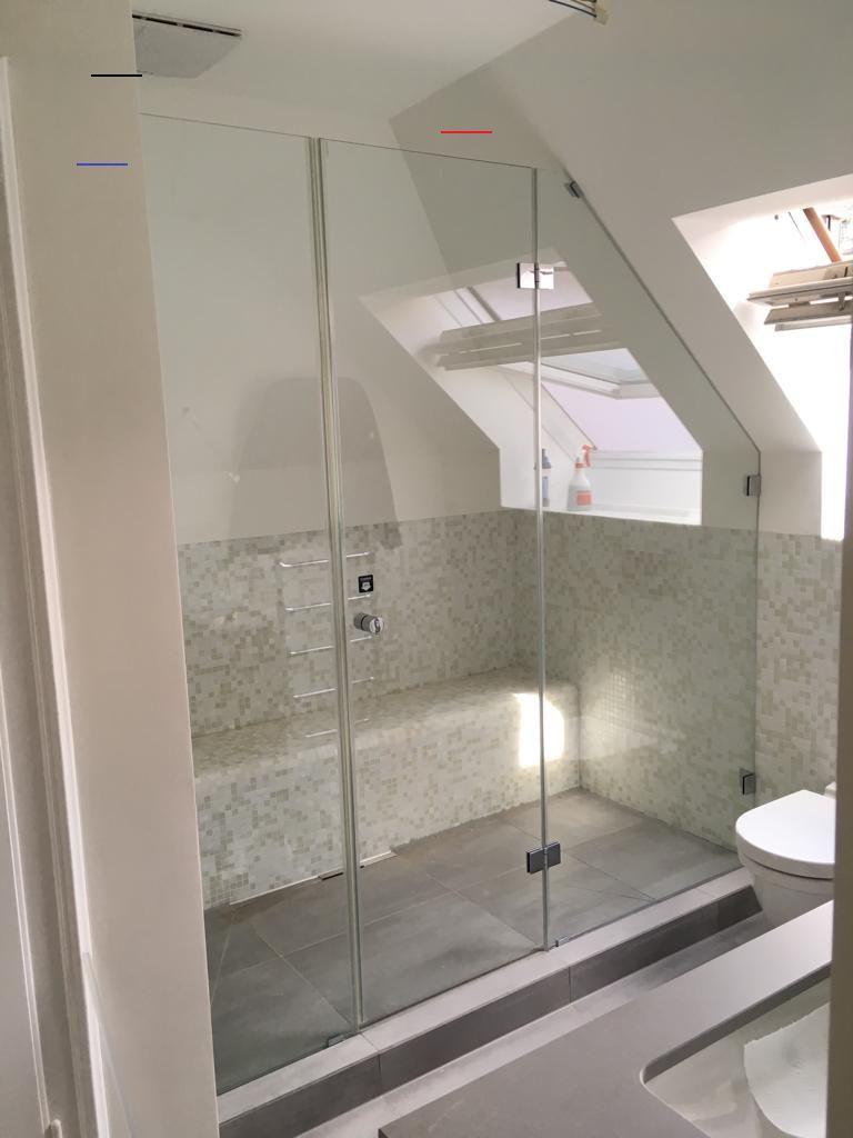 Pin Von Irma Sioned Auf Badezimmer In 2020 Badezimmer Dachschrage Moderne Dusche Dachboden Dusche