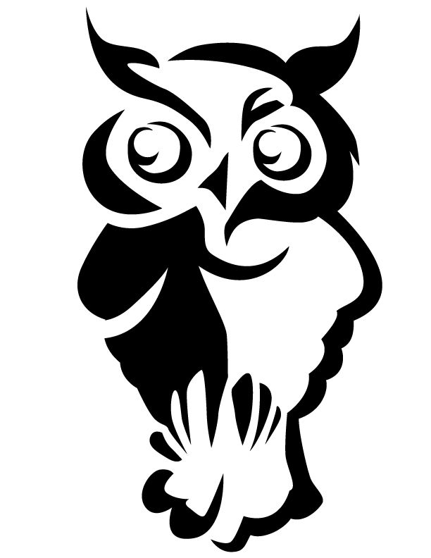 aa0dbee266784c59e88998b55e4c44ea owl free printable coloring pages halloween pinterest on scary pumpkin stencils free printable