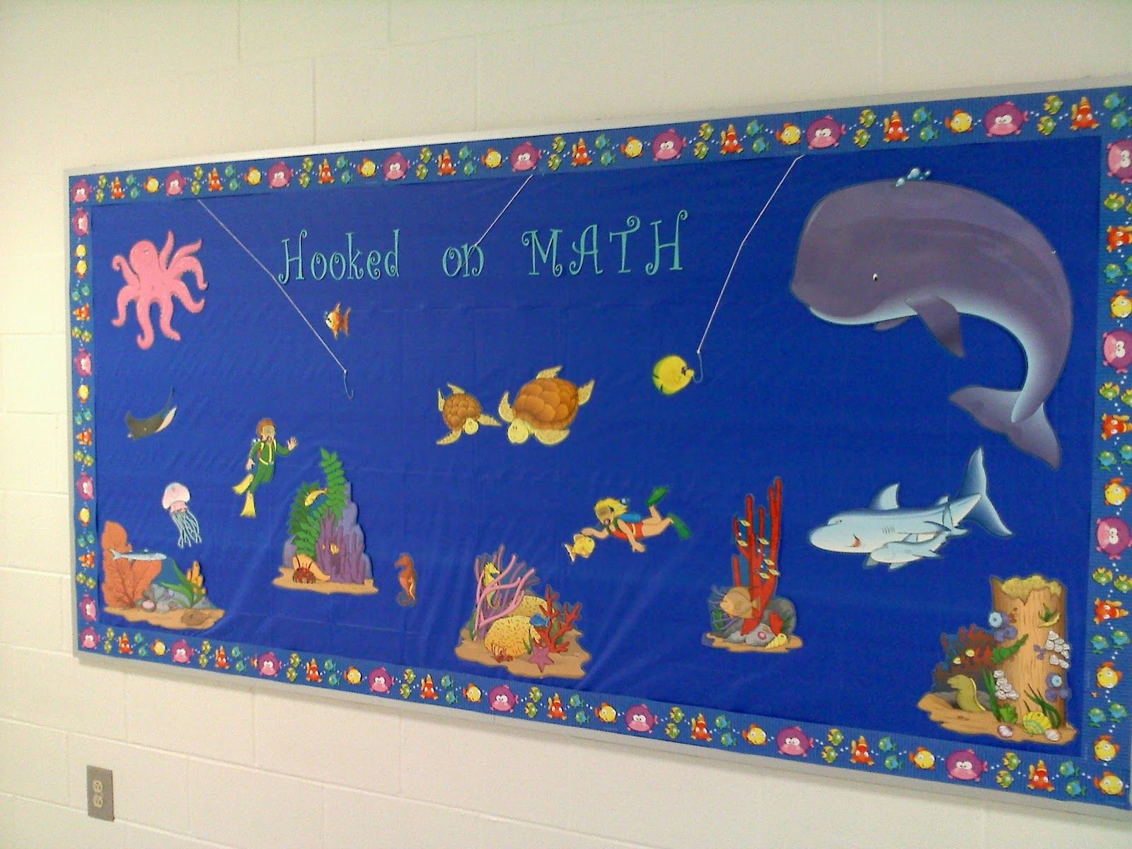 Math Bulletin Board Ideas | ... my math bulletin board!!! Sorry