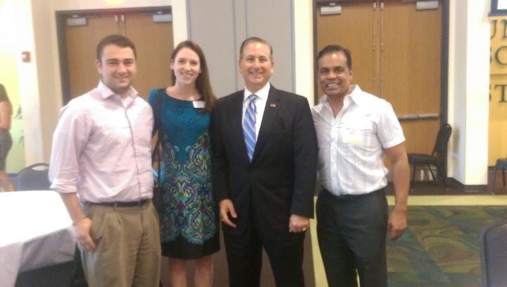 #TeamElevate with Mayor Rick Kriseman and Priatek at State of St. Pete Economy at University of South Florida St. Petersburg! #ElevateTampa