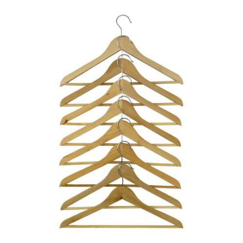 Ikea Bumerang Clothes Hangers In Natural Finish Nice