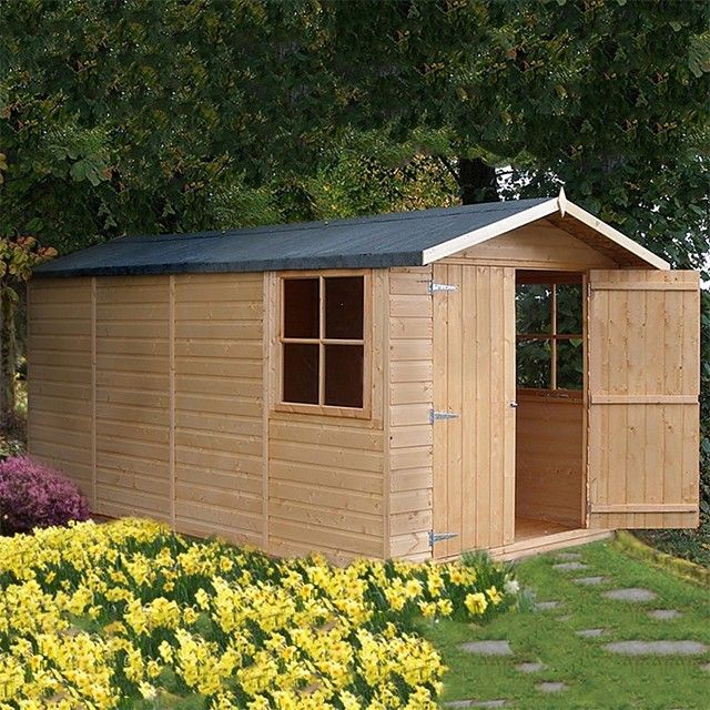 13 x 7 x shire jersey apex shed