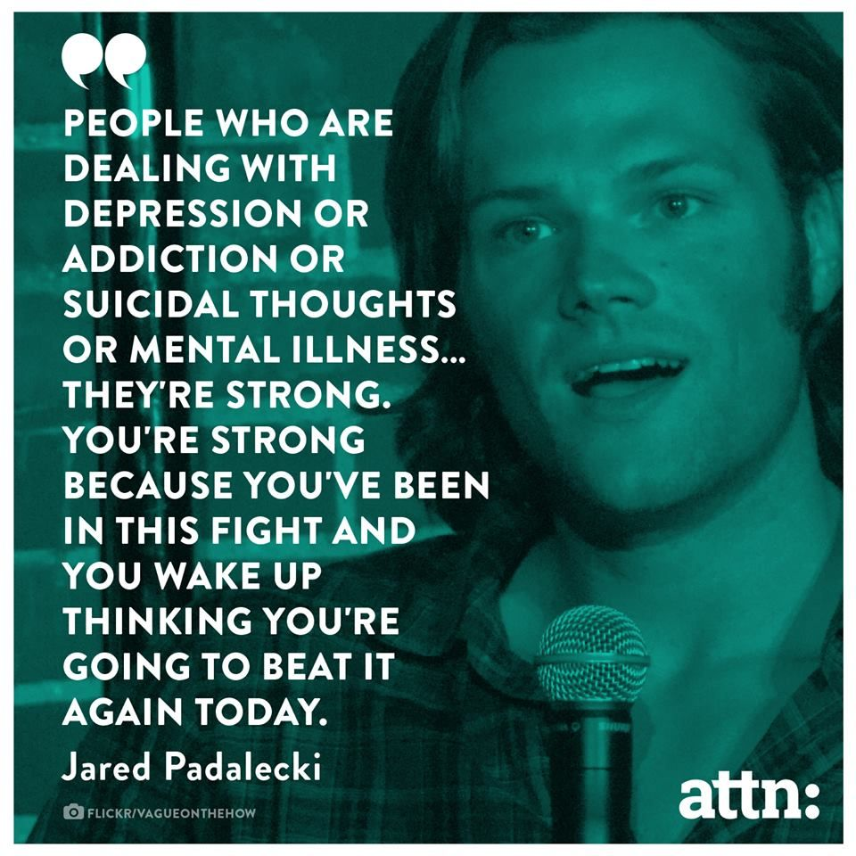 Jared padalecki quotes - I Agree With Jared Padalecki Mental Health Is A Very Important Issue That Should Not