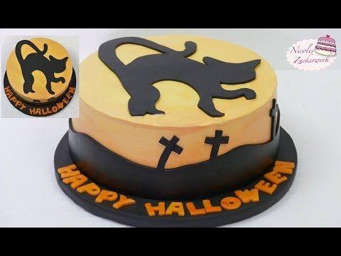 Halloween Motivtorte Blaubeer Sahne Torte Deko Tutorial Von Nicoles Zuckerwerk Youtube Halloween Motivtorte Motivtorte Zuckerwerk