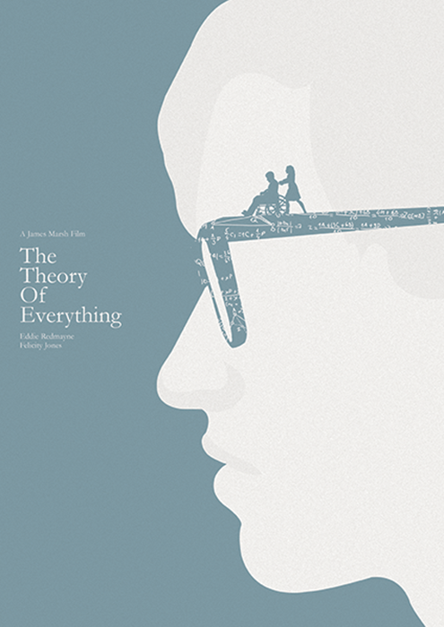 The theory of everything 2014 minimal movie poster by for Minimalist architecture theory