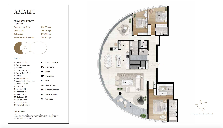 Penthouse City Garden Unit Amalfi L27a Promenade 1 Tower Luxury Penthouse Penthouse City Garden