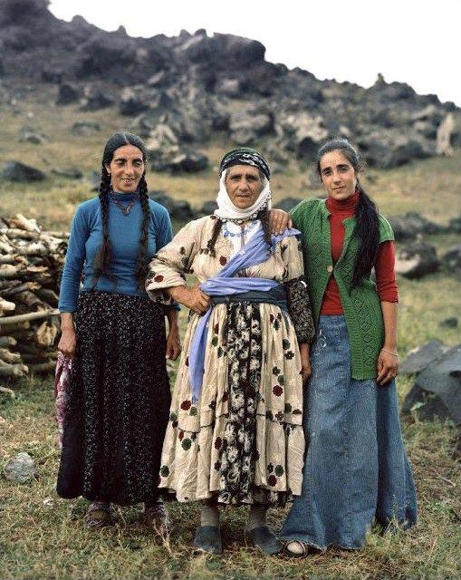 Kurdish/Turkish women