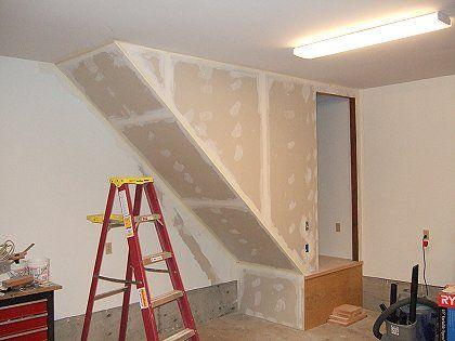 2005   Rebuilding The Garage Stairs