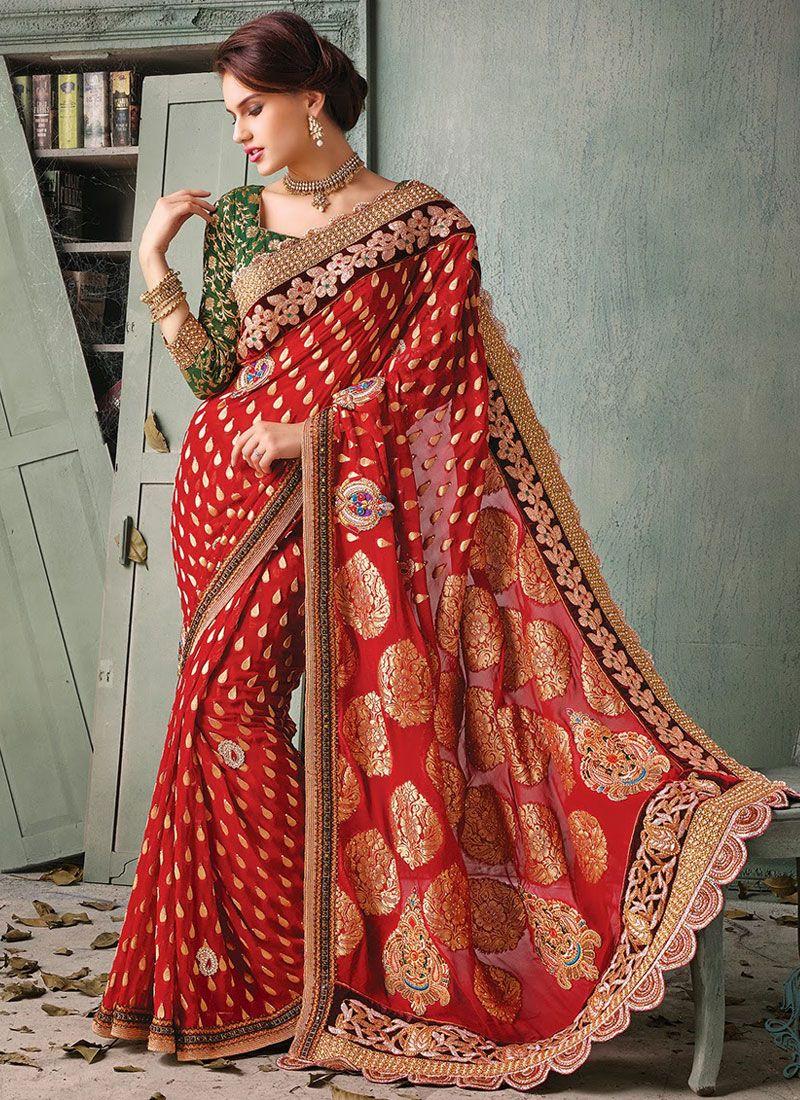 Saree with Long Pallu
