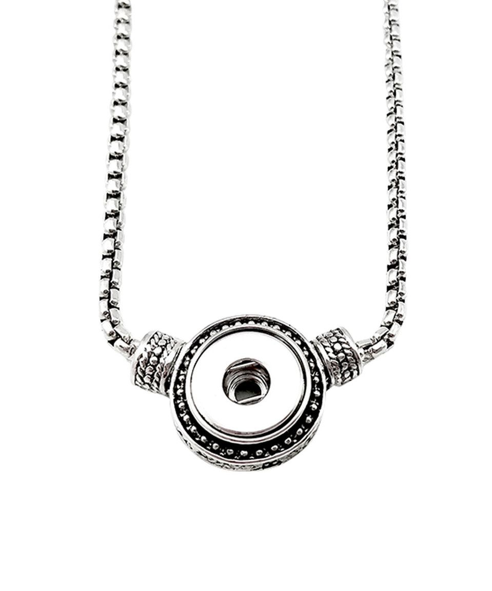 Loving this sterling silver interchangeable snap pendant necklace loving this sterling silver interchangeable snap pendant necklace on zulily zulilyfinds aloadofball Images