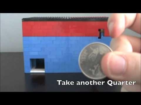 How To Build A Lego Soda Machine That Takes Money