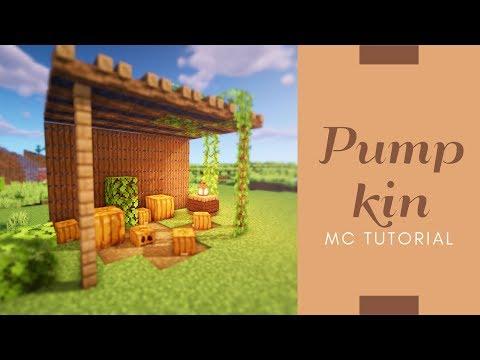 マインクラフト 可愛いカボチャ畑の作り方 建築講座 Youtube