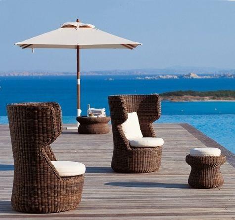 gartenmöbel aus polyrattan besonders schick: eden lounger mit, Wohnzimmer dekoo