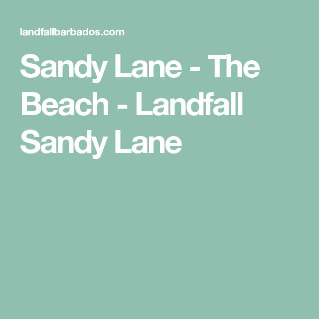 Sandy Lane - The Beach - Landfall Sandy Lane