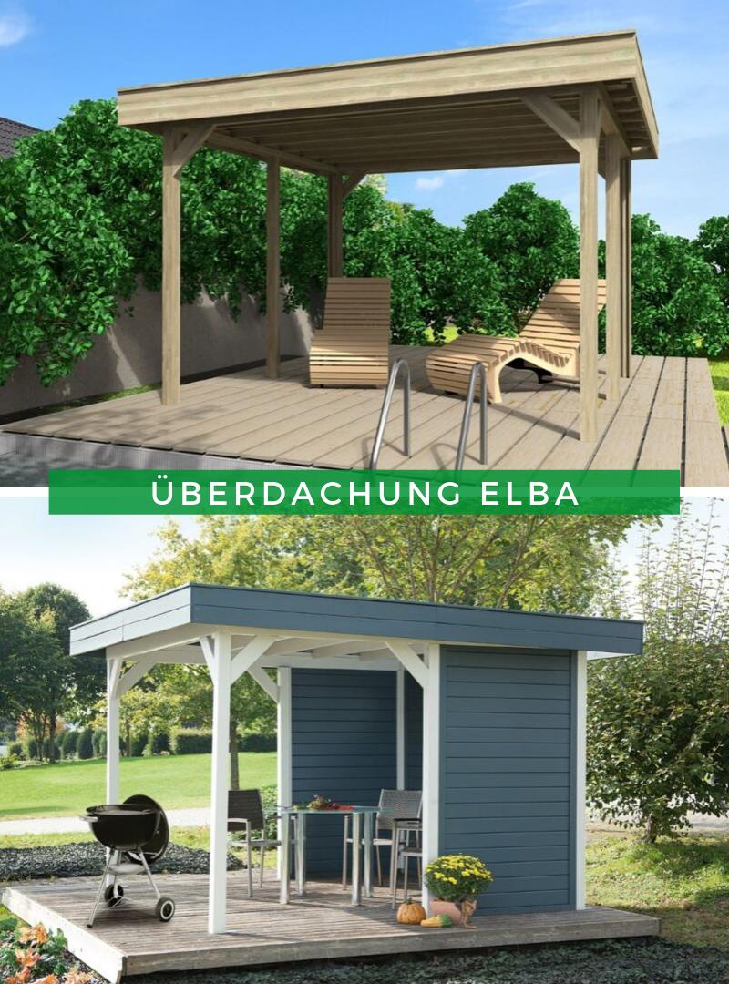 Wolff Flachdach Überdachung Elba B Flachdach