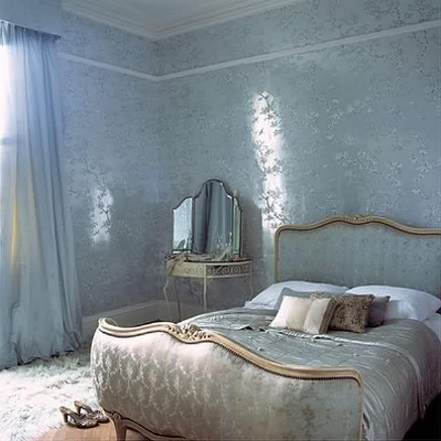 Blue Cinderella Room