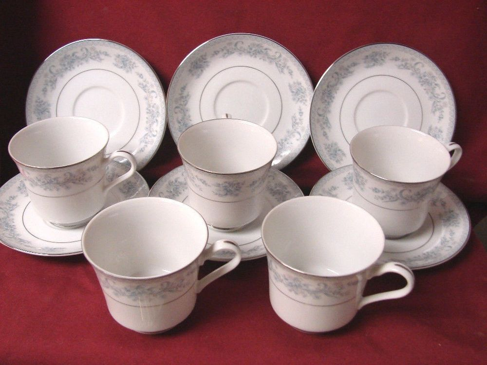 Mikasa, China Dresden Rose, Pattern #L9009 Set 3 cup and 3 saucer ...