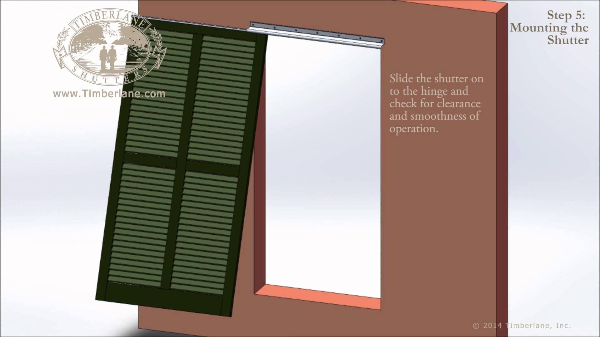 Installing Bermuda Shutters Bermuda shutters