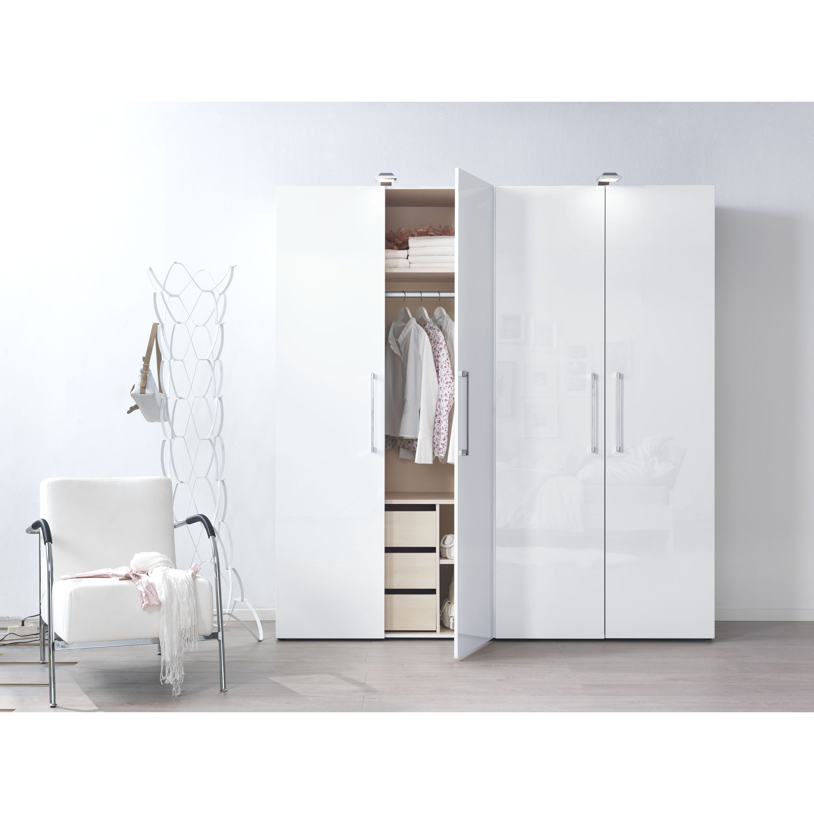 High Gloss Bedroom Cupboards Lemon Bedroom Accessories Toddler Bedroom Curtains Black And White Bedroom Cupboard Designs: High Gloss White Wardrobes - Google Search