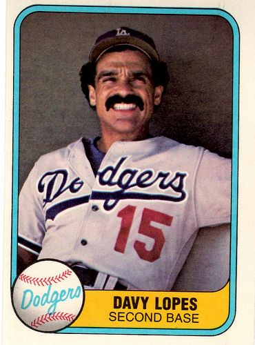 1981 Fleer Baseball Card By Jasperdo Sports Design Baseball