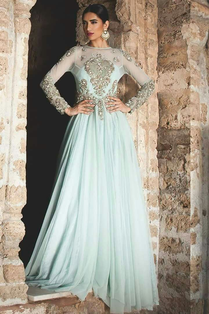 Lovely pastel colors | Indian ethnic party wear...... | Pinterest ...