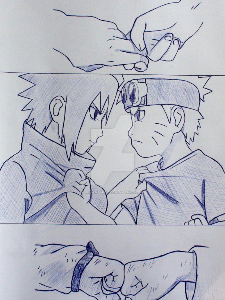 Photo of Naruto and Sasuke sketch by ViivaVanity on DeviantArt