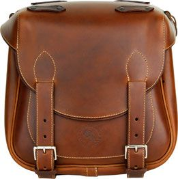Custom Leather Motorcycle Bags